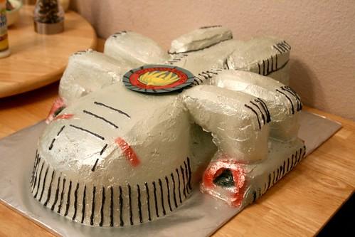 Battlestar Galatica Cake