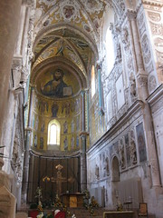 Catedral, interior, Cefalu (Don Giorgio Sevilla) Tags: catedral cupula cefalu