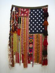 Flag #19 @ Saatchi Gallery (noriko.stardust) Tags: usa london art modern america gallery contemporary flag fine starsandstripes saatchi sararahbar
