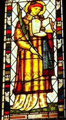 St Stephen, Llandaff (robin.croft) Tags: saint wales cathedral cardiff stainedglass stephen martyr anglican llandaff preraphaelite edwardburnejones