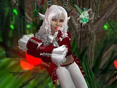 Atriel's Faun Avatar (AtrielStarbrook) Tags: christmas faun atrielstarbrook