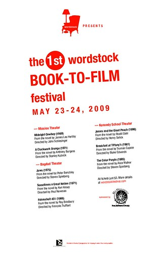 Wordstock book to film, portland