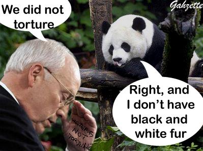 Cheney Lying to Panda