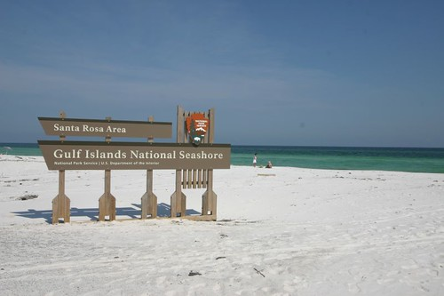 Gulf Islands National Seashore, Florida.