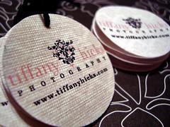 tiffany*hicks*photography hang tags & labels