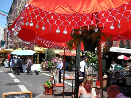 Orange Umbrella (Click to enlarge)