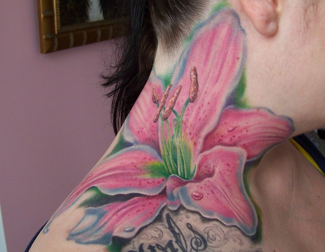 Tiger Lilly Tattoo. 10 hours by Mike Devries of MD Tattoo