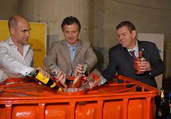 Se eliminaron 5 mil litros de bebidas alcohólicas secuestradas