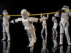 Military Maneuvers (JD Hancock) Tags: favorite trooper black reflection fun toy actionfigure star starwars interesting funny action humor explore cc figure scifi stormtrooper balance wars 5k limbo 1k thesecretlifeoftoys theotherside nogeo inkitchen galleried jdhancock