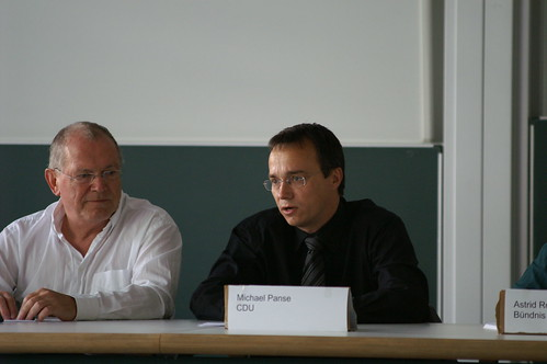 Podiumsdiskussion an der FH (2)