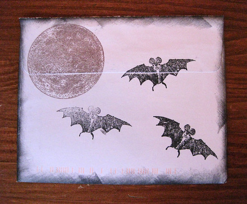 Bats by the light of the moon