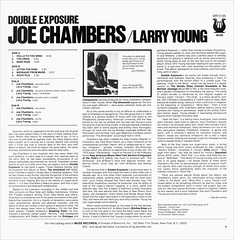 Joe Chambers > Double Exposure [back liner]