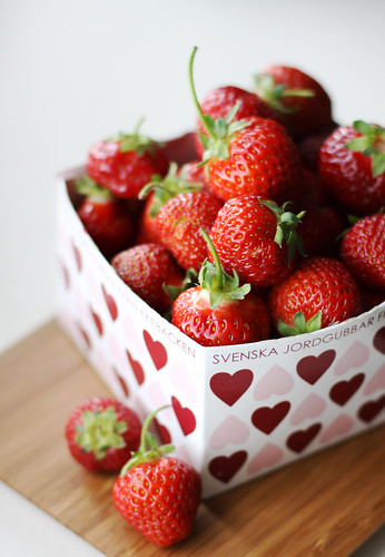Strawberries from Sweden