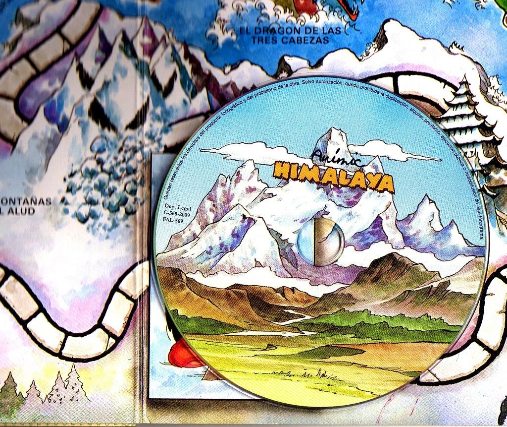 Las montañas del Alud y el Himalaya de Monés (disco de Animic)