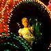 Cinderella and Fairy Godmother in Disney's Electrical Parade
