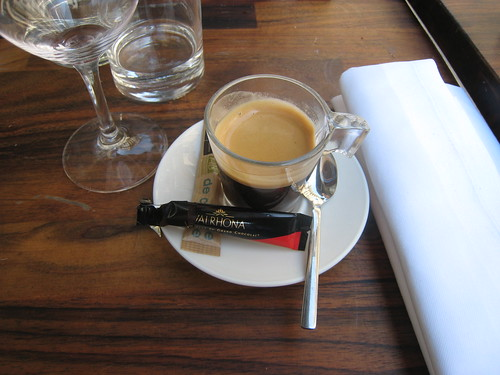 Espresso and chocolate. So simple a combination.