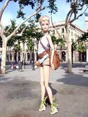 HOT AFTERNOON (Barbara 50) Tags: barcelona doll dolls barbie mueca barbiedoll barbiedolls barbie50thanniversary