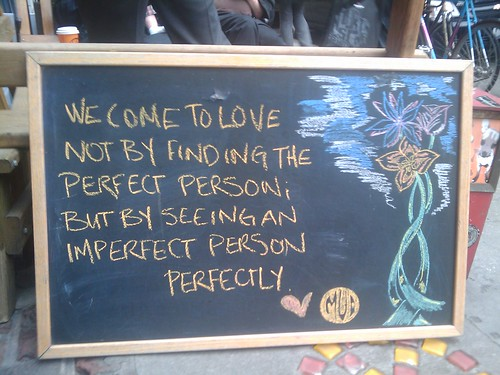 love imperfectly