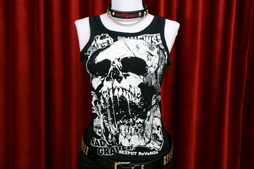 Rad Punx Tank Top by SEX POT ReVeNGe