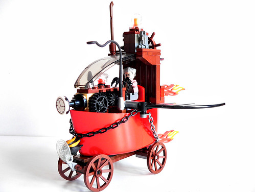 LEGO steampunk time machine