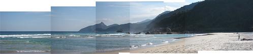 Praia Lopes Mendes, Ilha Grande, Brasil