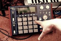 MPC 1000 (Saab Sandhu) Tags: music studio hip hop rap beats pads mpc