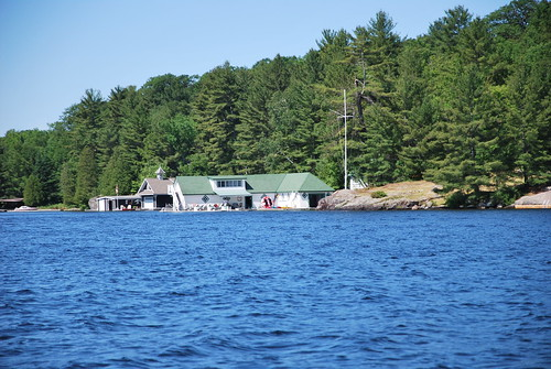 Lake Rosseau Boat House | Flickr - Photo Sharing!