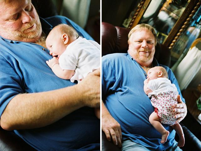 {Grandpa + Adelaide}
