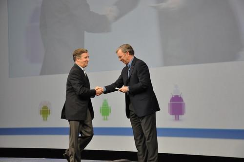 Logitech + Google TV - Google IO (Jerry Quindlen, Logitech CEO)