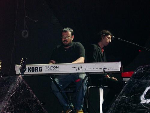 Andy Chango y Federico Lechner