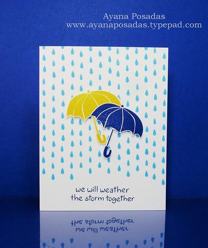 Two LawnFawn Umbrellas