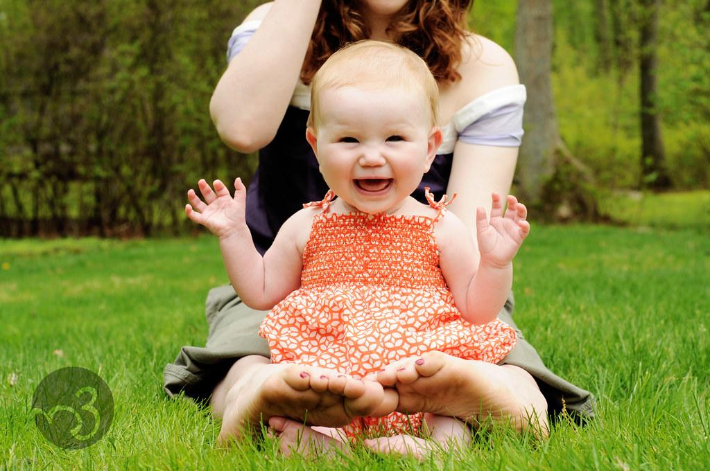 Baby R, 6 months