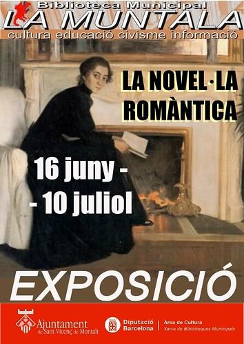 Exposició: la novel·la romàntica by bibliotecalamuntala