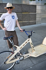 Plywood cargo bike-22