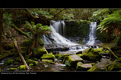Horseshoe Falls, Mt Field National Park (Matty7D) Tags: longexposure green forest waterfall moss australia tasmania ferns silky horseshoefalls canon1022 mtfieldnationalpark nd8 canon7d matty7d
