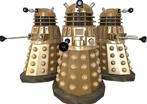 Gold Daleks