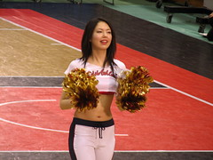 Osaka Evessa Cheerleader - Osaka, Japan 4 (glazaro) Tags: city basketball japan japanese asia cheerleaders dancers stadium arena dome  osaka sendai kansai kadoma namihaya bjleague evessa 89ers