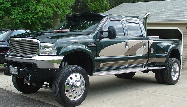 2002 ford truck diesel country pickup turbo redneck pollen bigtruck ralph 73 rednecks stacks f350 lifted showtruck stroker dually powerstroke 73l johannataylor fourplaycustoms