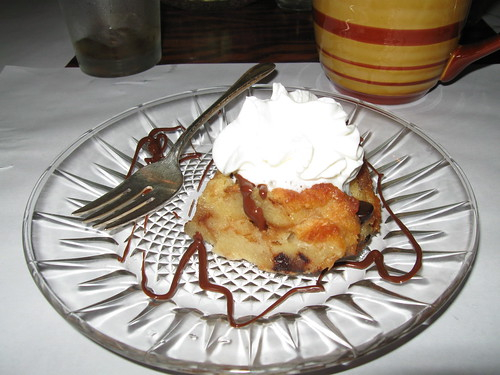 Chocolate Crossiant Bread Pudding