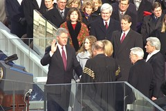 1997 Clinton Inauguration - Swearing-in Ceremony