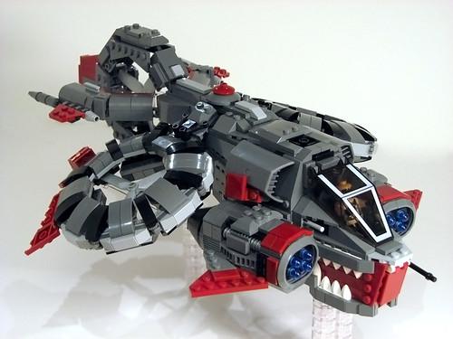 Starcraft 2 Lego Banshee
