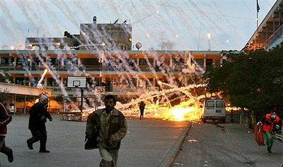 BOMBA DE FOSFORO EN GAZA 4