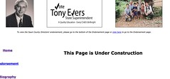 Tony Evers - Under Construction