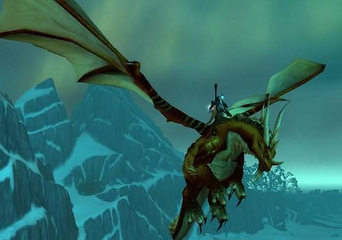 World of Warcraft  魔獸世界 龍眠神殿  空中定點飛行 by chun 銘俊