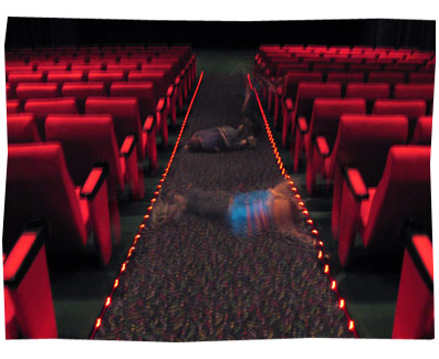 Rolling Through A Cinema