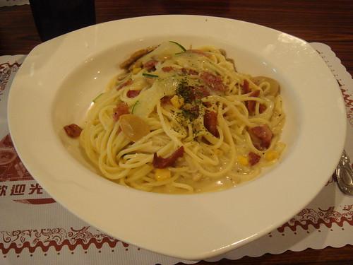 05馬沙義大利麵-奶油培根蘑菇義大利麵(2008).JPG