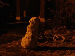 Snowman @ Seapoint Court =D