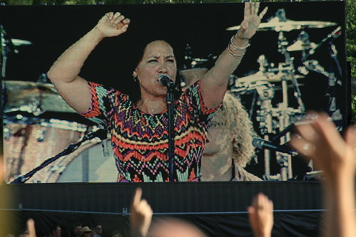 Kate Cebrano,Day on the Green, Simply Red Concert