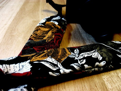 Homemade Camera Strap Slipcover