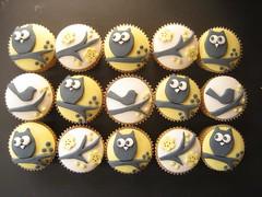 yellow owl and bird cupcakes (hello naomi) Tags: kite bird cakes cookies shop kids magazine cupcakes lego 4 owl anchor clourd onephotoweeklycontest